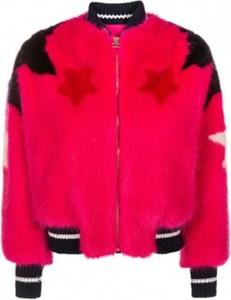 Różowa kurtka Elisabetta Franchi krótka