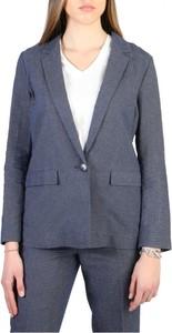 Płaszcz Armani Jeans z lnu