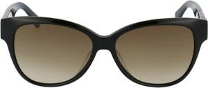 Czarne okulary damskie Longchamp
