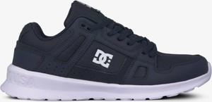 Granatowe buty sportowe DC Shoes z płaską podeszwą