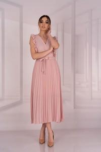 Różowa sukienka MERRIBEL maxi