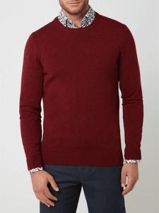 Czerwony sweter McNeal w stylu casual z wełny