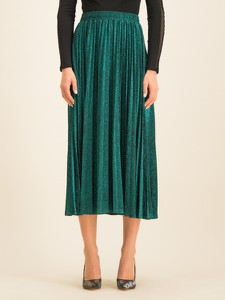 Zielona spódnica Guess midi