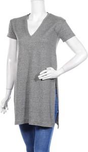 Bluzka Zara Trafaluc w stylu casual z dekoltem w kształcie litery v