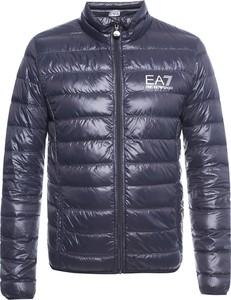 Niebieska kurtka Emporio Armani krótka