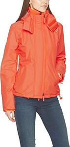 Pomarańczowa kurtka superdry