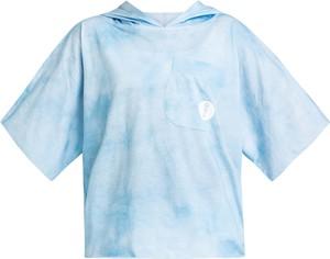 Niebieska bluzka dziecięca Robert Kupisz dla dziewczynek z bawełny
