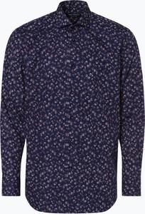 4da49d285c80c5 Niebieska koszula Van Graaf z długim rękawem w młodzieżowym stylu