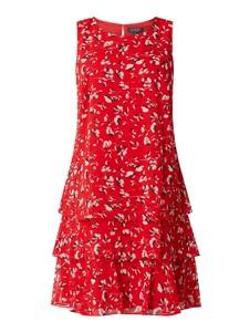 Czerwona sukienka Ralph Lauren mini bez rękawów