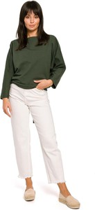 Bluzka MOE z długim rękawem z bawełny