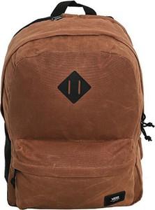 Brązowy plecak męski Vans