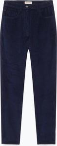 Spodnie American Vintage w stylu klasycznym ze sztruksu