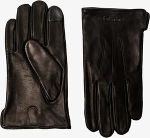 Brązowe rękawiczki Timberland