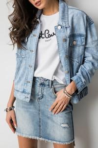 Spódnica Fashion Manufacturer z bawełny w street stylu mini
