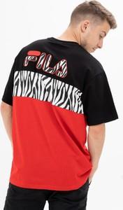 T-shirt Fila z krótkim rękawem z dzianiny