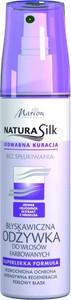 Marion, Natura Silk, błyskawiczna odżywka do włosów farbowanych, 150 ml