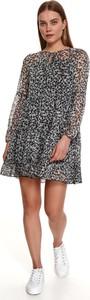 Sukienka Top Secret w stylu casual mini z okrągłym dekoltem