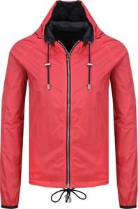 Czerwona kurtka Emporio Armani w stylu casual