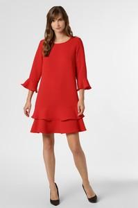 Czerwona sukienka Marie Lund mini z długim rękawem