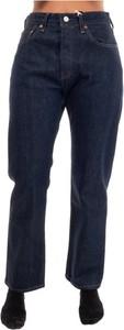 Granatowe jeansy Levis w stylu casual