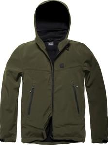 Zielona kurtka Vintage Industries z polaru