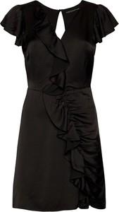 Sukienka Guess z dekoltem w kształcie litery v z krótkim rękawem