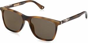 amazon.de Police okulary przeciwsłoneczne dla mężczyzn ORIGINS 1, brązowe (Shiny Brown Havana/Grey)