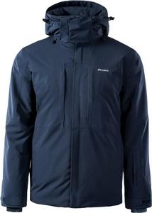 Granatowa kurtka Elbrus krótka w sportowym stylu