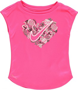 Różowy t-shirt Nike