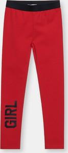 Czerwone spodnie dziecięce Sinsay