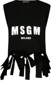 Bluzka MSGM z okrągłym dekoltem