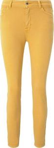 Żółte jeansy Tom Tailor w stylu casual