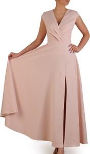 36bc4ca197 długa kremowa sukienka - stylowo i modnie z Allani