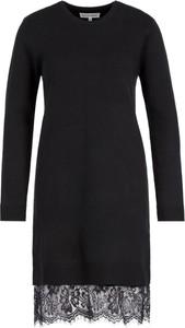 Czarna sukienka Silvian Heach w stylu casual mini