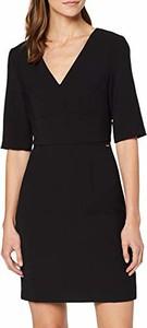 Sukienka amazon.de mini w stylu casual z dekoltem w kształcie litery v