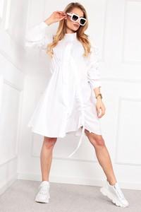 Sukienka Ptakmoda.com mini z długim rękawem oversize