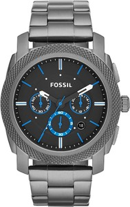 Zegarek FOSSIL - Machine FS4931 Smoke/Gunmetal