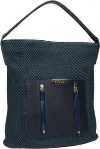 Granatowa torebka NOBO w stylu casual