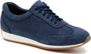 Granatowe buty sportowe Agda w sportowym stylu
