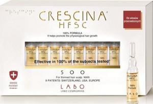 Crescina HFSC 100% Re-Growth 500 man- preparat do włosów dla mężczyzn, 10 x 3,5 ml
