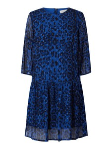 Niebieska sukienka InWear z długim rękawem mini