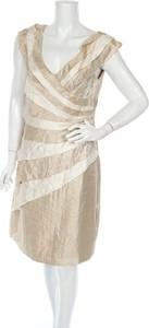 Sukienka London Style bez rękawów z dekoltem w kształcie litery v