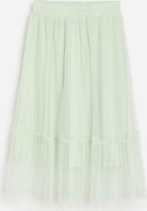 Zielona spódniczka dziewczęca Reserved