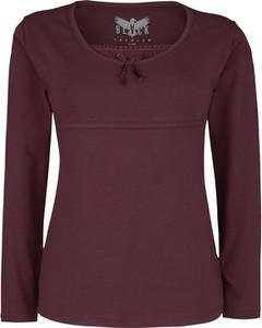 Bluzka Emp z długim rękawem z bawełny w stylu casual