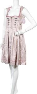Sukienka MARJO na ramiączkach z dekoltem w kształcie litery v mini