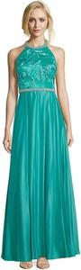 Zielona sukienka Vera Mont bez rękawów