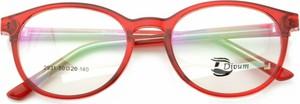 Czerwone okulary damskie Stylion