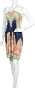 Sukienka Comeng z okrągłym dekoltem mini