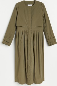 Reserved - Płaszcz typu trencz - Khaki