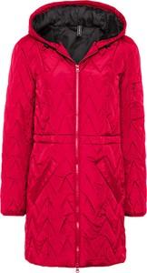 Czerwona kurtka bonprix w stylu casual